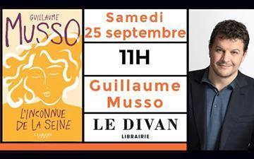 Dédicaces parisiennes du 25 septembre Guillaume Musso