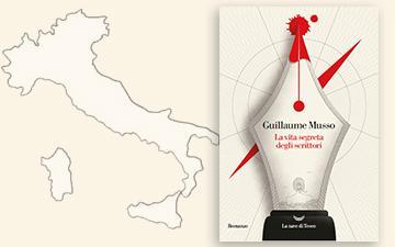 Edition italienne de La vie secrète des écrivains